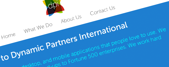 Dynamic Partners International Website